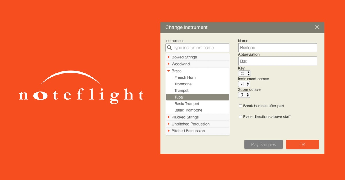 noteflight online music notation software